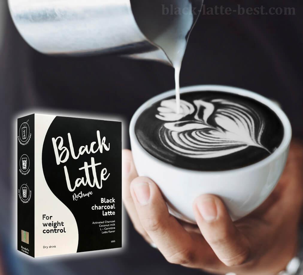 ordenar black latte